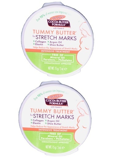 Palmers Palmer's Cocoa Butter Formula Stretch Marks Tummy Butter 2 x 15 gr - Karın Gerginliği Azaltıcı Krem Renksiz
